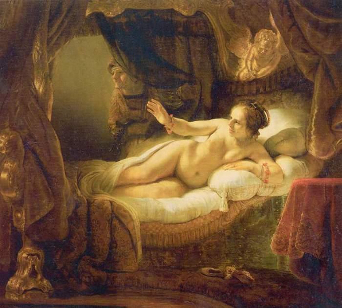 Рембрандт, Даная (2) (700x630, 54Kb)