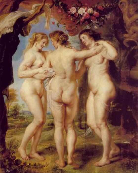 Рубенс, Три грации (2) (559x700, 47Kb)