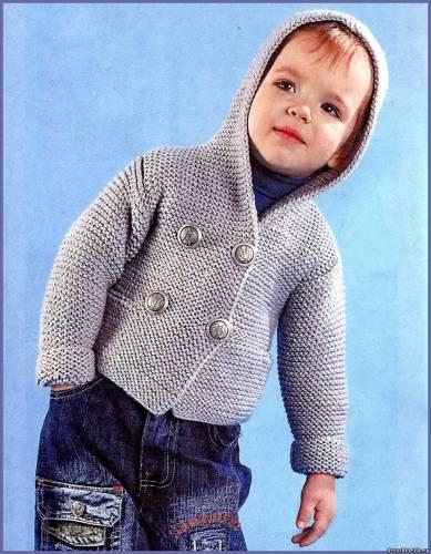 Вязанная Куртка Для Мальчика 4