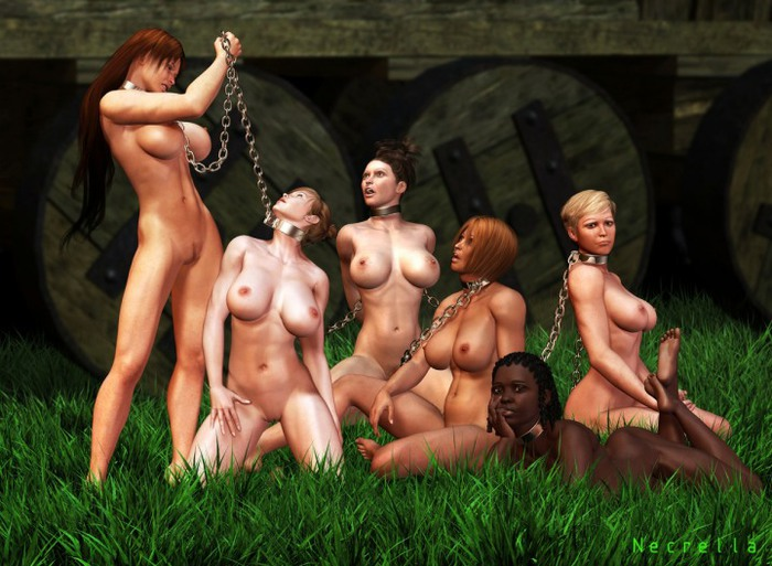 девушки рабыни голые фото