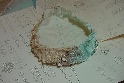 变废为宝:废碟的应用(2)针插 - maomao - 我随心动