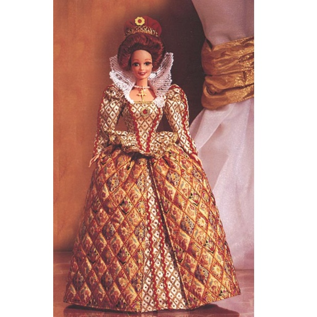 12792 Elizabethan Queen Barbie4_enl (620x620, 128Kb)