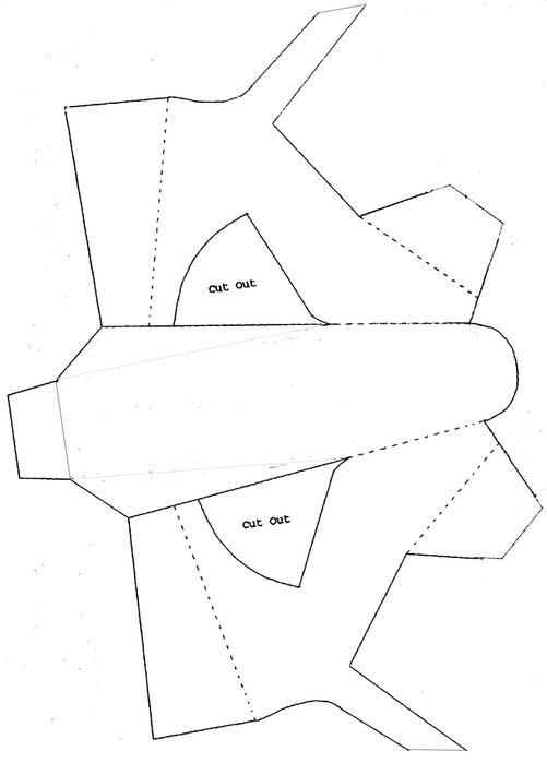 Поделка туфелька шаблоны 12
