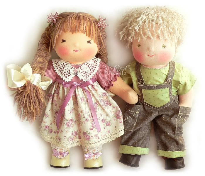 Вальдорфской куклы своими руками