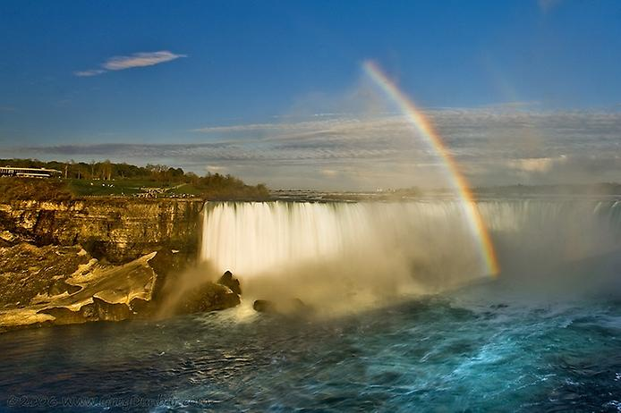 Ниагарский водопад - один из самых красивых в мире