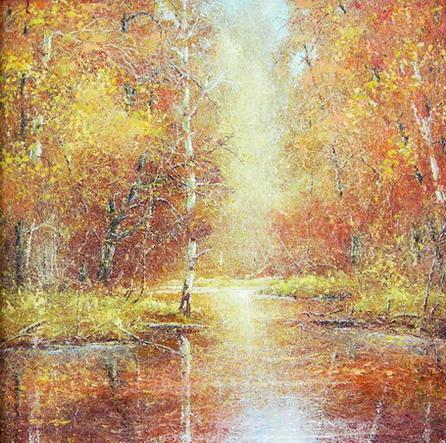 Лоскутов Евгений. Осенние кружева (446x443, 111Kb)