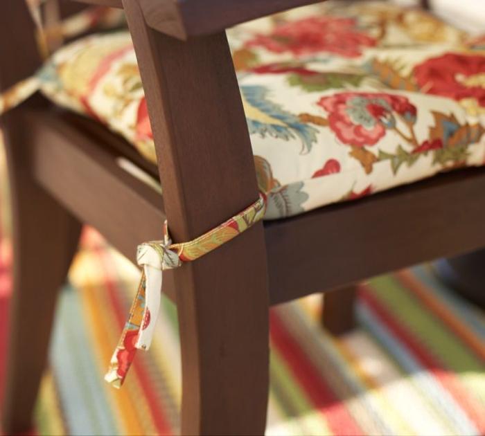 Пошив подушки на стулья своими руками