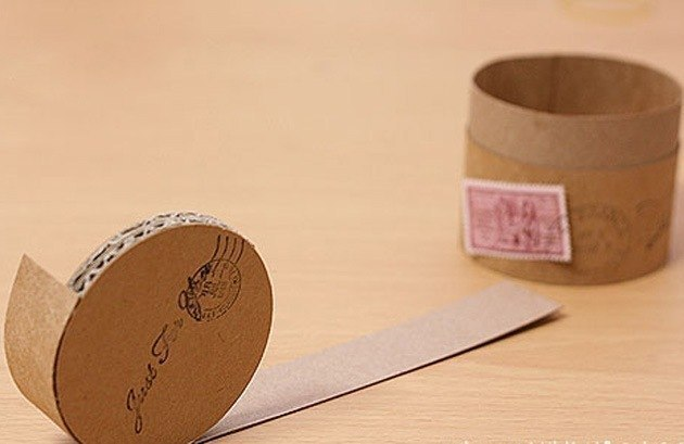 Как сделать круглую коробку для подарка своими руками
