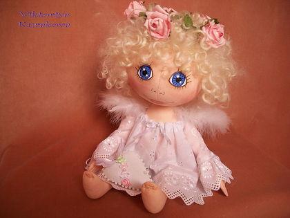 Текстильная кукла ангел своими руками мастер класс