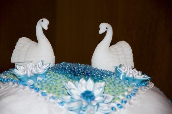 Лебеди для колец своими руками
