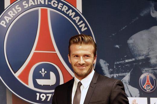 Дэвид Бекхэм перешел во французский клуб ПСЖ