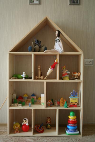 Как сделать своими руками шкафчик для игрушек