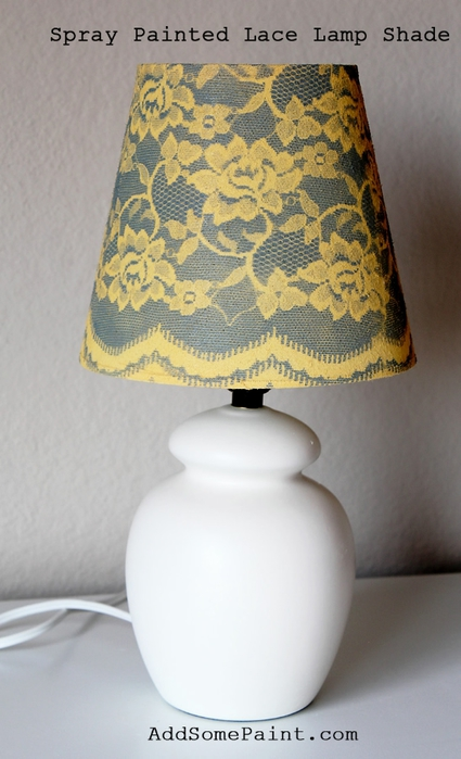 finished spray painted lamp shade (425x700, 193Kb)