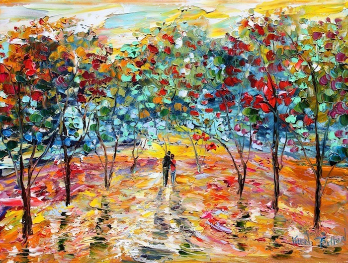 современная живопись Карен Тарлтон 6 (700x530, 225Kb)
