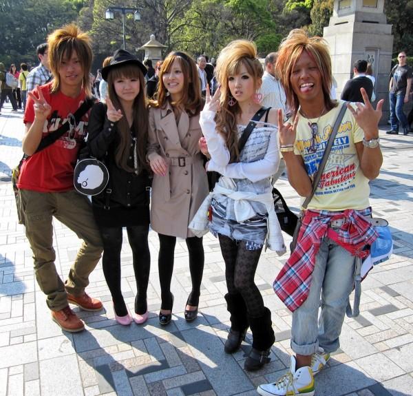 фото молодёжи японии