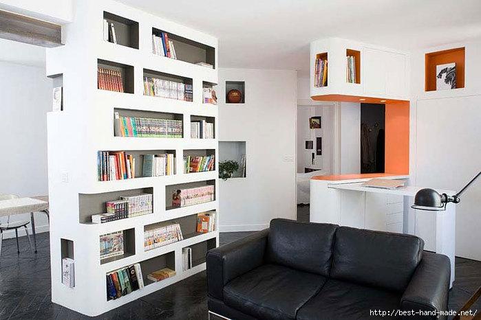 Front and back apartment встроенная квартира в париже идеи вашего Znay
