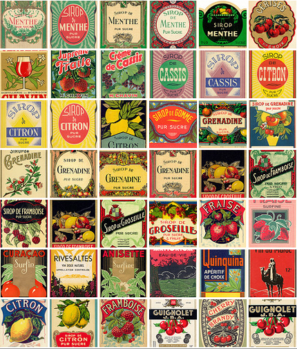 lemonade-vintage-labels-flickr-eureka (430x505, 451Kb)