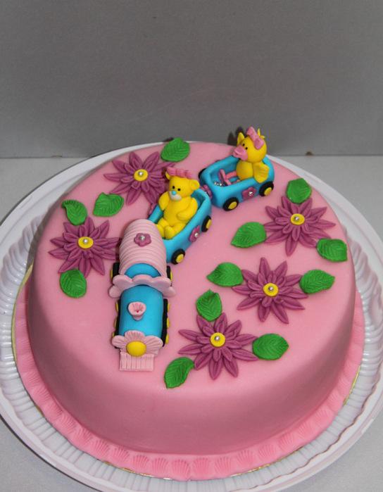 Торт из мастики в домашних условиях для детей