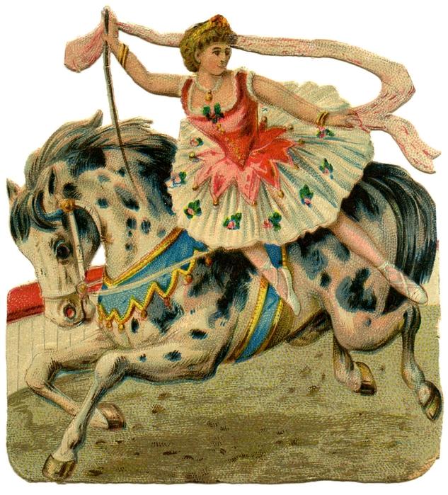 circus girl vintage image graphicsfairy009b (1) (633x700, 386Kb)
