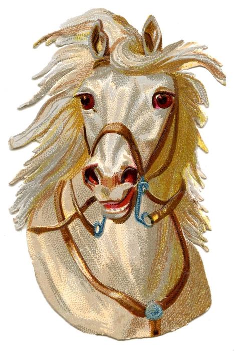 HorseHead-Vintage-GraphicsFairy (469x700, 239Kb)