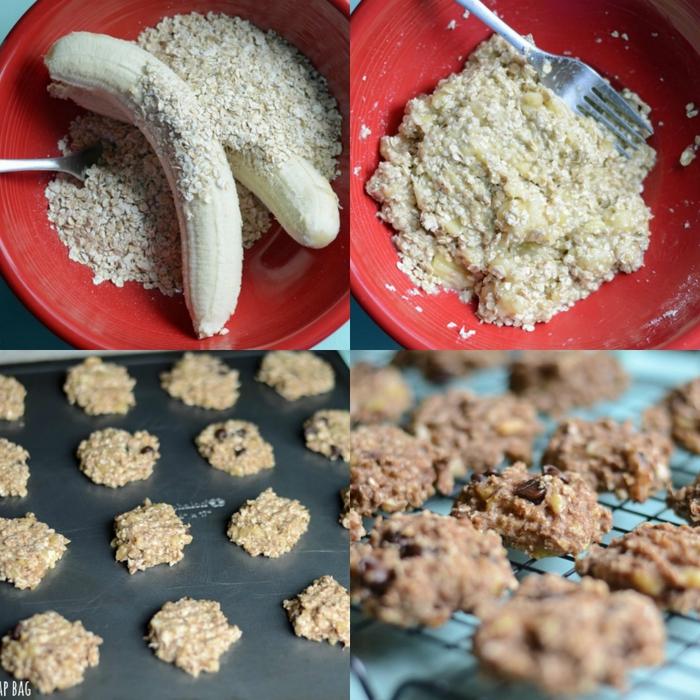 Печенье овсяно банановое рецепт