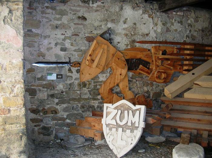 Замок Зумелле - Castello di Zumelle 35313