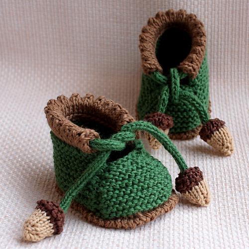 """针织:""""婴儿鞋"""" - maomao - 我随心动"""