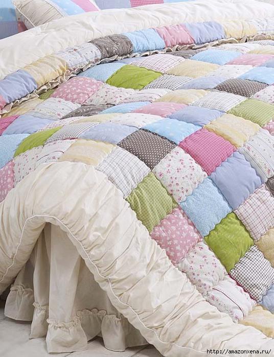Нежные стеганые одеяла и