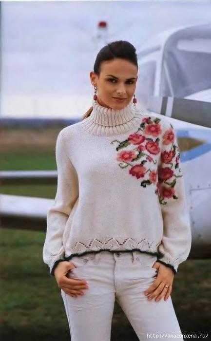 Самый красивый женский свитер