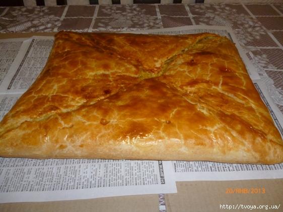 кубите пирог с мясом рецепт
