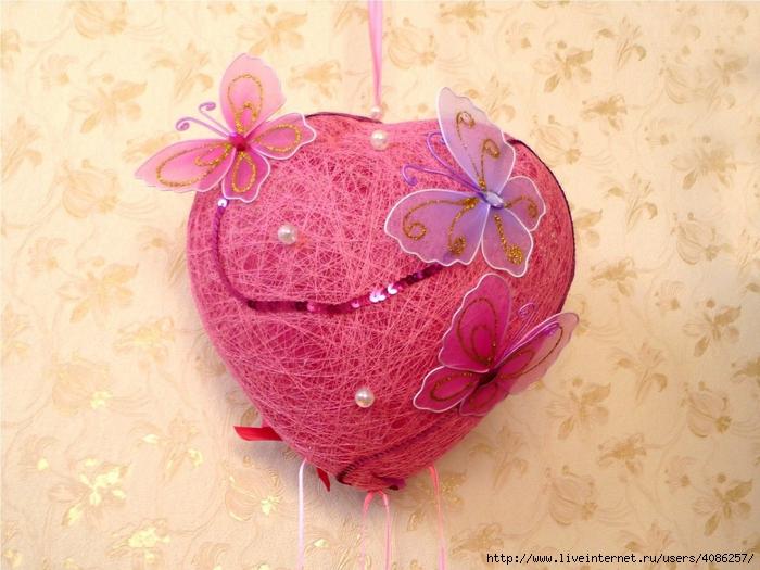 Валентинка объемное сердце своими руками Как сделать сердечки на день святого Валентина своими руками Как научить ребенка.