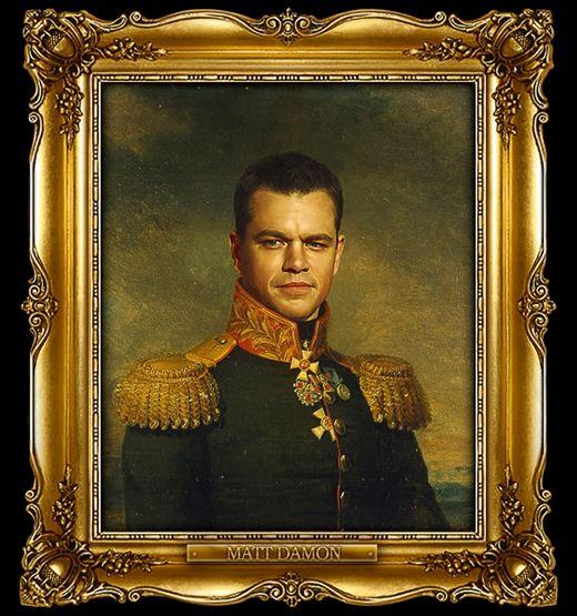 Стив Пейн. Актеры, политики и другие в форме царской армии
