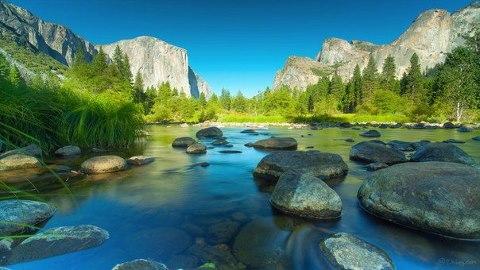 Йосе́митский национальный парк, США (480x270, 38Kb)