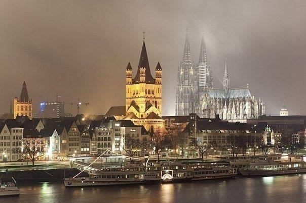 Кельн, Германия (604x402, 42Kb)