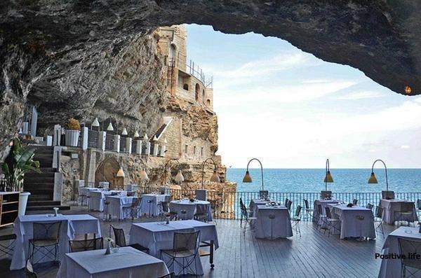Ресторан Апулия, Италия (600x397, 51Kb)