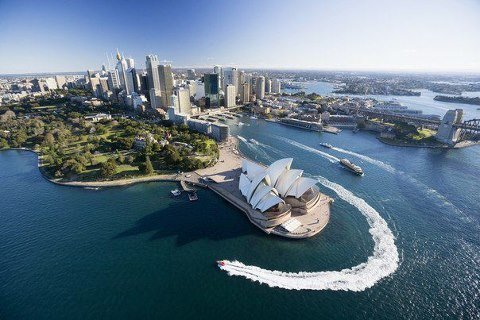 Сидней, Австралия (480x320, 43Kb)
