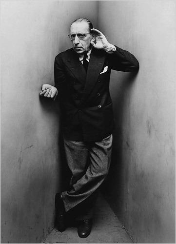 Игорь Стравинский работы Ирвинга Пенна, Нью Йорк, 1948. (361x500, 30Kb)