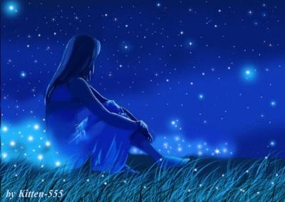 Ночь, звезды (400x283, 45Kb)