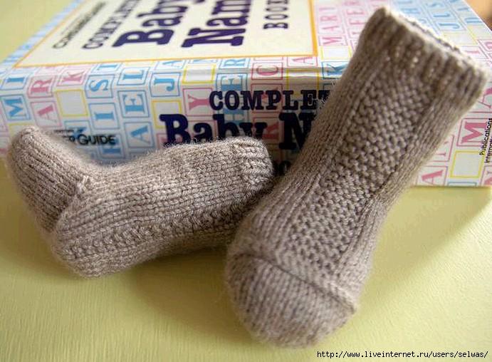 Носочки  детские вязаные спицами/4683827_20130207_213637 (691x508, 209Kb)