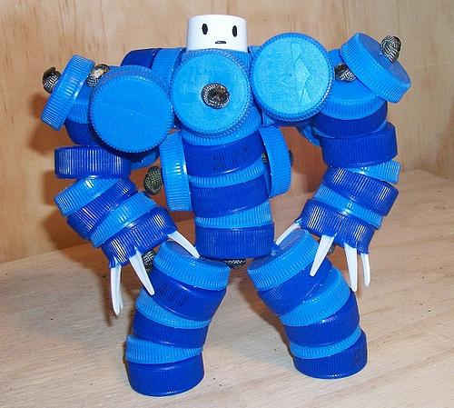 Робот на елку своими руками