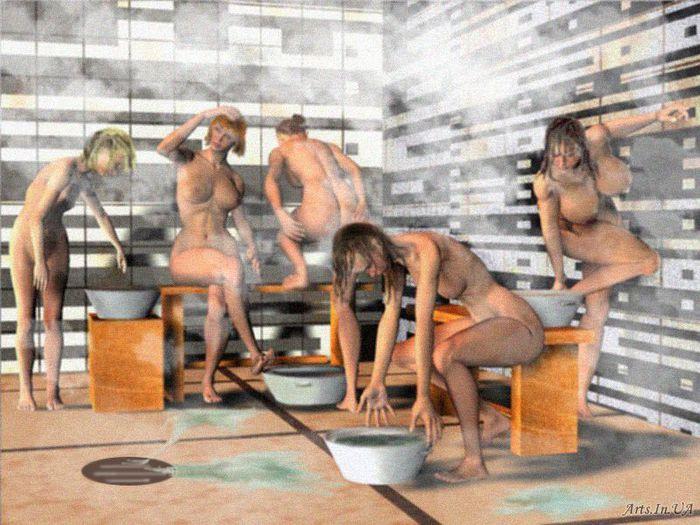 Частные фото из женских бань 17 фотография