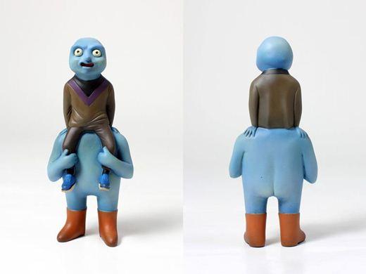 Салау Кобой. Забавные скульптуры. Фотографии