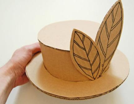 Мини шляпка своими руками