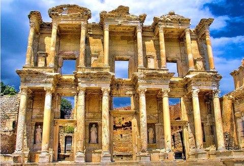 Библиотека Цельсия в Эфесе (480x327, 66Kb)