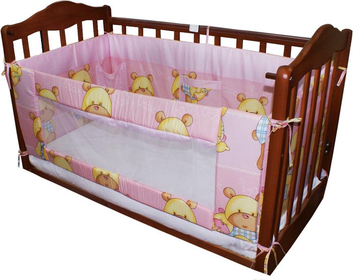 Бампер детской кроватки сшить своими руками