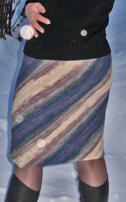 вязанные юбки спицами схемы.