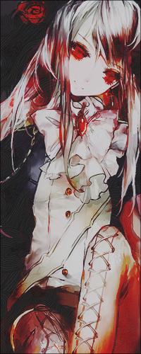 страшные картинки с кровью аниме