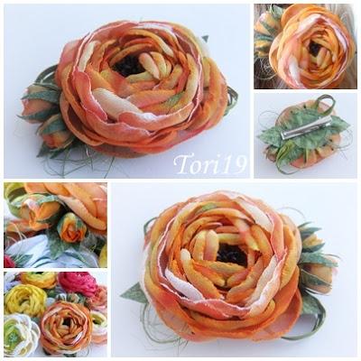 Цветы из ткани (16) (400x400, 72Kb)