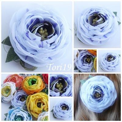 Цветы из ткани (20) (400x400, 70Kb)