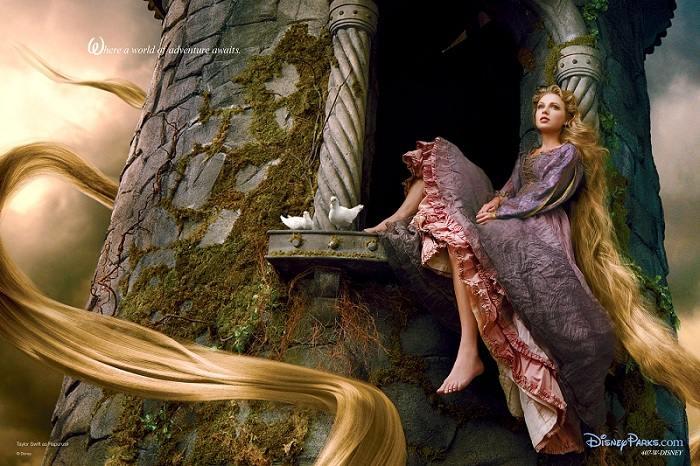 Энни Лейбовиц представляет звезд Голливуда в диснеевских образах